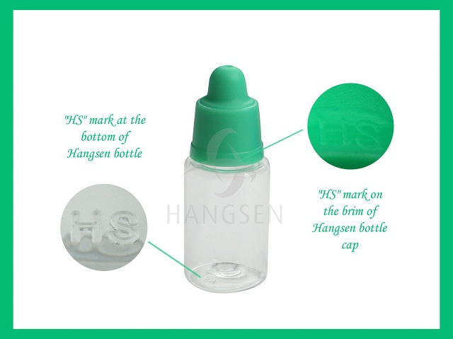 Hangsen e-liquid bottle design