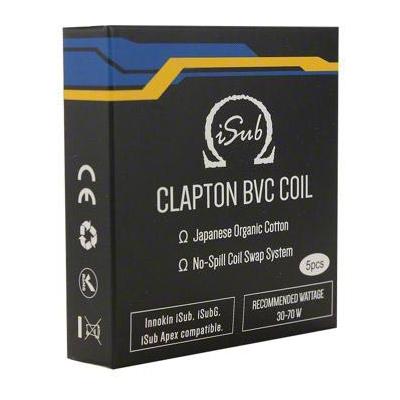 Innokin iSub BVC Clapton Coils 0.5 Ohm-0