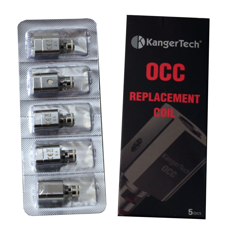 Kangertech OCC Coils Pack of 5 Subtank Sub Ohm