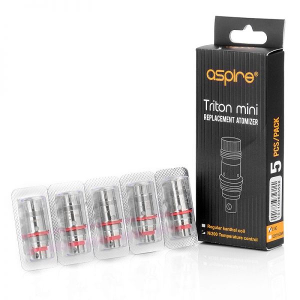 Aspire Triton Mini Replacement Coils Pack of 5