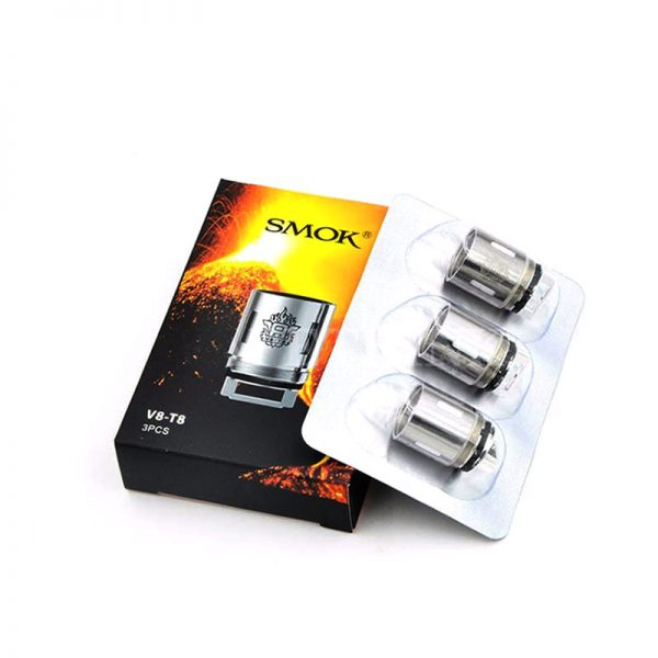 Replacement Atomiser Coils For The Smok TFV8 Tank