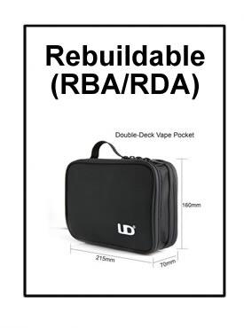 Rebuildable Atomizers (RBA/RDA)